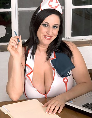 Big Tit Nurse Porn Pictures